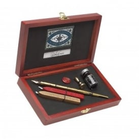 Victoriana Writing And Sealing Set