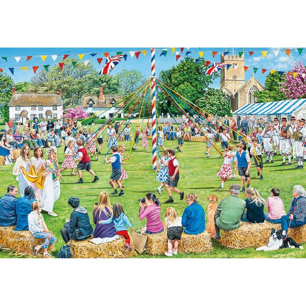 Village Celebrations Jigsaw Puzzle