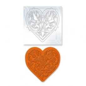 Vine Heart Set Die & Stamp