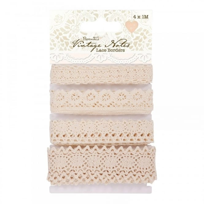 Vintage Notes Lace Borders 4 Pack*