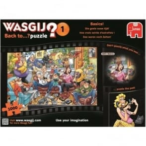 Wasgij 1 Back To Basics 1000 Piece Puzzle