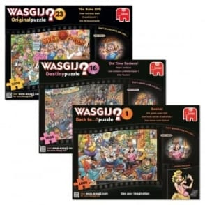 Wasgij 1000 Piece Puzzle Collection