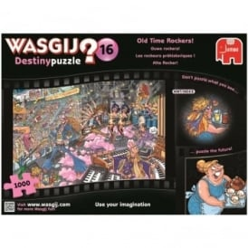 Wasgij Destiny 16 Old Time Rockers 1000 Piece Puzzle