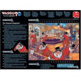 Wasgij Mystery 12 The Unusual Suspects 1000 Piece Puzzle