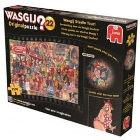 Wasgij Original 22 Studio Tour 1500 Piece Puzzle*