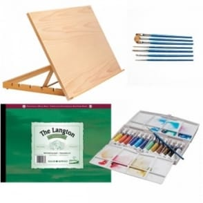 Watercolour Beginners Complete Set - A2 Bundle