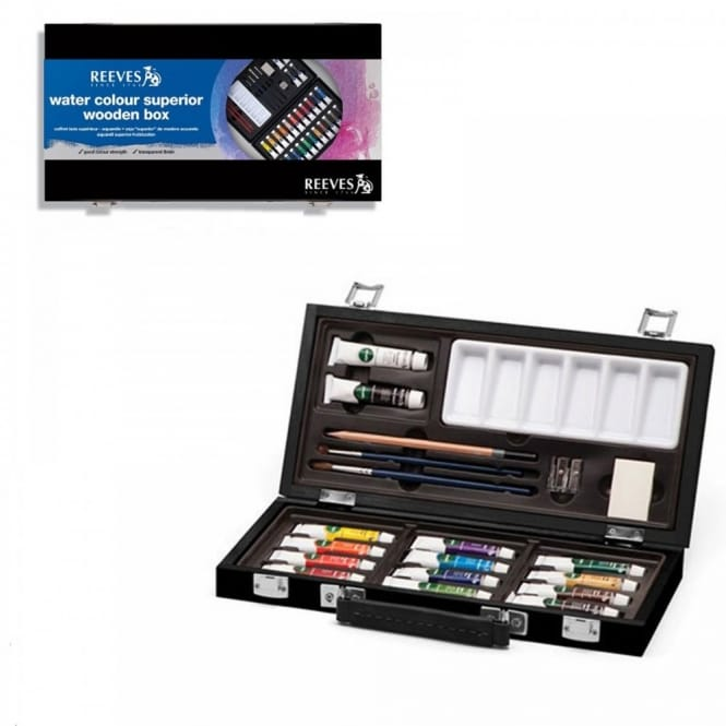 Watercolour Deluxe Wooden Box