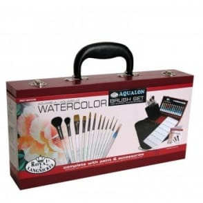 Watercolour Painting for Beginners 2000 Wooden Box