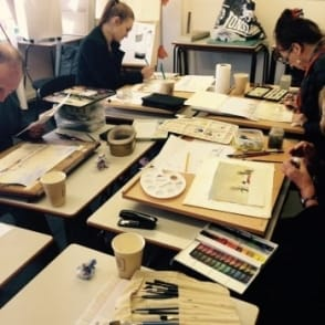 Watercolour Workshop with Winsor and Newton Paints| 4 hours | 10.00-14.30 | Saturday