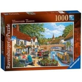 Ravensburger 19695 Waterside Tavern 1000 Piece Jigsaw Puzzle
