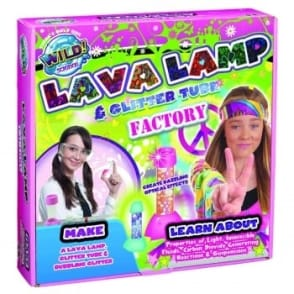 Wild Science Lava Lamp and Glitter Tube Factory Kit