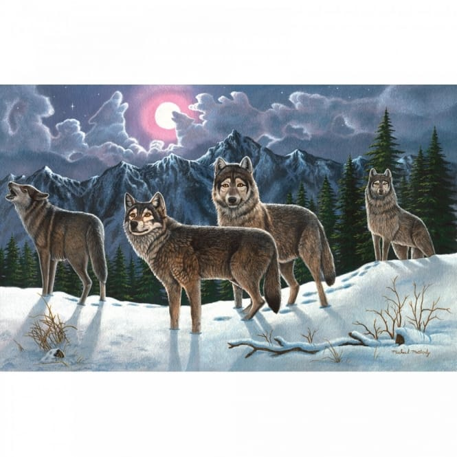 Wolves Large Paint By Numbers