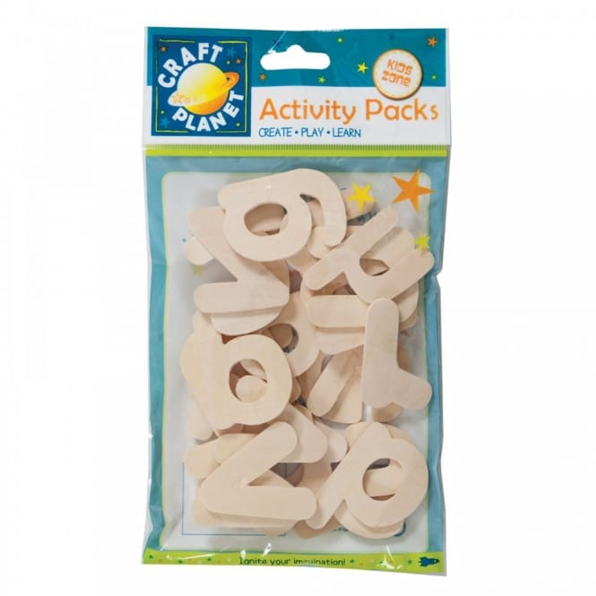 Wooden Alphabet Pack 26 Pieces