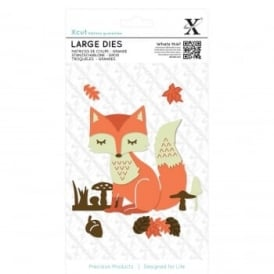 Woodland Layered Fox Die Set 21 Pieces