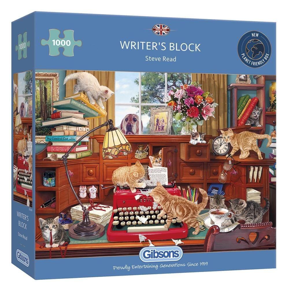 Writers Block 1000pc Puzzle - CraftyArts.co.uk