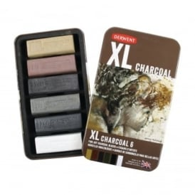 XL Charcoal Block - 6 Set