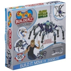 Zoob Builder Z Creepy Glow Creatures 65 Pieces