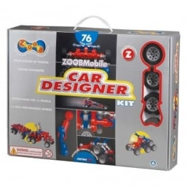 Zoob Mobile Car Designer 76 Piece Kit
