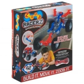 Zoob Racer Z Speedsters 42 Pieces